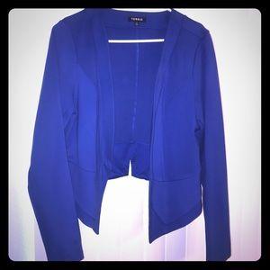 Torrid Royal Blue Hi-Cut Blazer